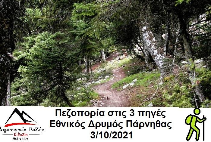 Hike in Parnitha Mountain